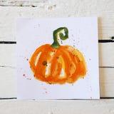 Carte de voeux de Halloween Photos libres de droits