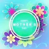 Carte de voeux de jour de Mother's Photo stock