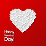 Carte de voeux de jour de Valentines Image libre de droits
