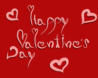 Carte de voeux de jour de Valentines Image stock