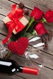 Carte de voeux de jour de Valentines Photographie stock
