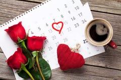 Carte de voeux de jour de Valentines Photo libre de droits