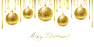 Carte de voeux de Joyeux Noël. Image stock