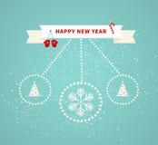 Carte de voeux de Joyeux Noël illustration stock