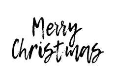 Carte de voeux de Joyeux Noël Photos stock