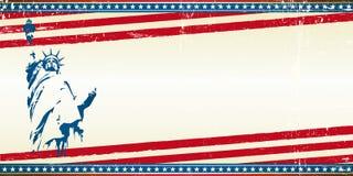 Carte de voeux de liberté illustration stock