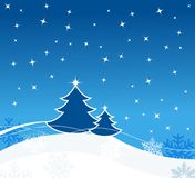 Carte de voeux de Noël Image stock