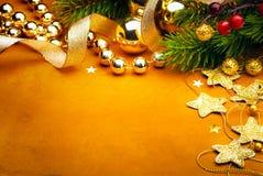 Carte de voeux de Noël d'art Images stock