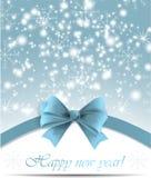 Carte de voeux de Noël et d'an neuf Vecteur Images stock
