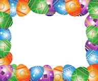 Carte de voeux de Pâques. illustration libre de droits