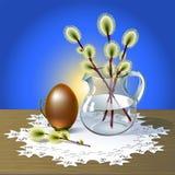 Carte de voeux de Pâques Photos stock