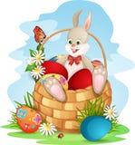 Carte de voeux de Pâques illustration de vecteur