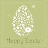 Carte de voeux de Pâques   Photos libres de droits