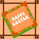 Carte de voeux de Pâques Image stock
