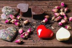 Carte de voeux de St Valentine Images stock