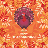 Carte de voeux de thanksgiving Images libres de droits