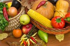 Carte de voeux de thanksgiving Photos libres de droits