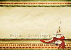 Carte de voeux des vacances Image stock