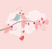 Carte de voeux du jour de Valentine Image stock