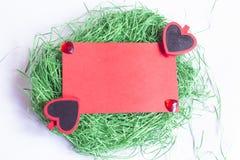 Carte de voeux du jour de Valentine Photo stock
