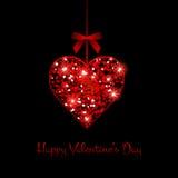 Carte de voeux du jour de Valentine Photos stock