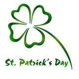 Carte de voeux du ` s de St Patrick Images stock