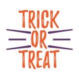 Carte de voeux heureuse de Halloween Affiche et bannière de Halloween sur Wh Photos libres de droits