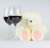 Carte de voeux heureuse de jour de Valentines Images stock