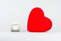 Carte de voeux heureuse de jour de Valentines Photo libre de droits