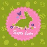 Carte de voeux de jour de Pâques Image stock