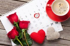 Carte de voeux de jour de Valentines Images libres de droits