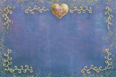Carte de voeux de jour de Valentines Photographie stock libre de droits