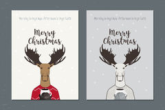 Carte de voeux : Joyeux Noël Photographie stock libre de droits
