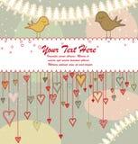 Carte de voeux ou invitation Images stock