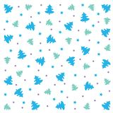 Carte de voeux plate de conception de lettrage de Joyeux Noël Longue ombre sur le fond vert, Images stock