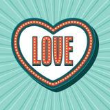 Carte de voeux pour la célébration de jour du ` s de Valentine Image libre de droits