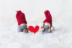 Carte de voeux pour le jour du `s de valentine Photo stock