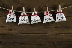 Carte de voeux pour les amis, la valentine, le Noël ou l'anniversaire Photographie stock