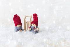 Carte de voeux pour Noël Photo libre de droits