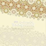 Carte de voeux pour Ramadan Kareem et Ed Mubarak Ornemental islamique de l'illustration de fond de mosaïque illustration stock