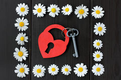 Carte de voeux pour Valentine Images stock