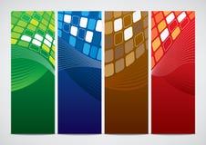 Carte dei modelli di affari Fotografia Stock