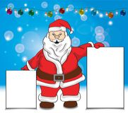 Carte dell'esposizione della tenuta di Santa illustrazione di stock