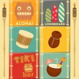 Carte delle Hawai Immagine Stock