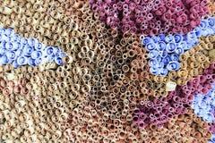 Carte di rotoli di vista superiore Fotografia Stock Libera da Diritti