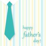 Carte du jour de père Photo libre de droits