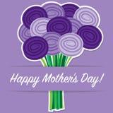 Carte du jour de Rose Mother Photographie stock libre de droits