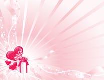 Carte du jour de Valentine Images stock