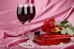 Carte du jour de Valentine Image stock