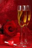 Carte du jour de Valentine. Photographie stock